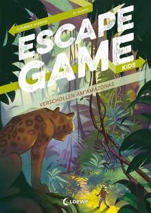 Clémence Gueidan: Escape Game Kids - Verschollen am Amazonas, Buch