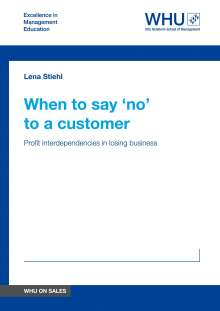 Lena Stiehl: When to say 'no' to a customer, Buch