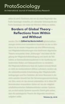 Barrie Axford: Borders of Global Theory - Reflections from Within and Without, Buch