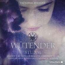 Victoria Aveyard: Die Farben des Blutes 4: Wütender Sturm, 3 CDs