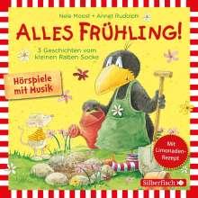 Alles Frühling!: Alles Freunde!, Alles wächst!, Alles gefärbt! (Kleiner Rabe Socke ), CD