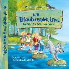 Pertti Kivinen: Die Blaubeerdetektive 1: Gefahr für den Inselwald!, 2 CDs