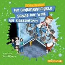 Sabrina J. Kirschner: Auf Klassenfahrt (Die unlangweiligste Schule der Welt 1), 2 CDs