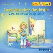 Liane Schneider: Conni kann nicht einschlafen / Conni macht das Seepferdchen (Meine Freundin Conni - ab 3 ), CD