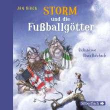Jan Birck: Storm und die Fußballgötter (Storm oder die Erfindung des Fußballs 2), 2 CDs