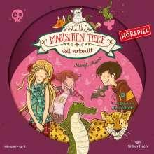 Margit Auer: Die Schule der magischen Tiere 08: Voll verknallt!, CD