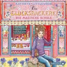 Kathryn Littlewood: Die Glücksbäckerei 8: Die magische Schule, 4 CDs