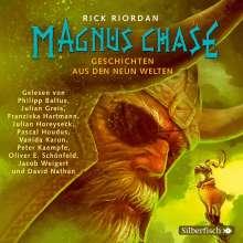 Rick Riordan: Magnus Chase  4: Geschichten aus den neun Welten, 3 CDs