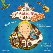 Die Schule der magischen Tiere - Endlich Ferien 5: Benni und Henrietta, 2 CDs