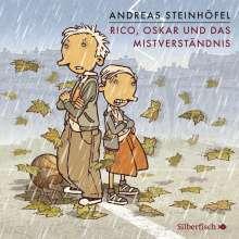 Andreas Steinhöfel: Rico und Oskar 5: Rico, Oskar und das Mistverständnis, 6 CDs