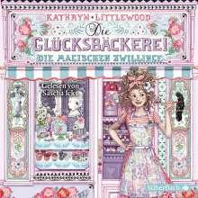 Kathryn Littlewood: Die Glücksbäckerei 09. Die magischen Zwillinge, 4 CDs