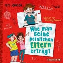 Pete Johnson: Wie man seine peinlichen Eltern erträgt (Eltern 2), 3 CDs