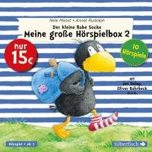 Nele Moost: Der kleine Rabe Socke - Meine große Hörspielbox 2 (Der kleine Rabe Socke), Diverse