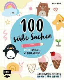 100 süße Sachen - Mein Kawaii-Zeichenkurs, Buch