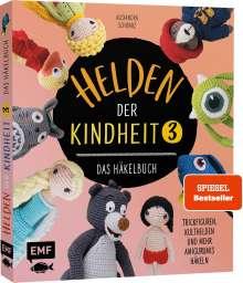 Alexandra Schwarz: Helden der Kindheit 3 - Das Häkelbuch - Band 3, Buch