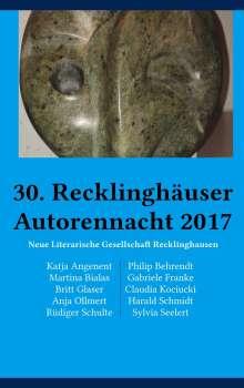 Katja Angenent: 30. Recklinghäuser Autorennacht, Buch