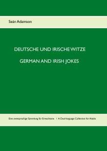 Seán Adamson: Deutsche und irische Witze  German and Irish Jokes, Buch