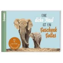 Jean Paul: Postkarten-Buch »Eine dicke Haut ist ein Geschenk Gottes«, Buch