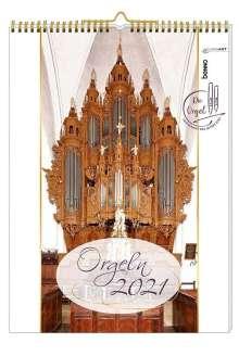 Die schönsten Orgeln 2021 ohne CD, Diverse