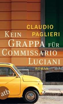 Claudio Paglieri: Kein Grappa für Commissario Luciani, Buch