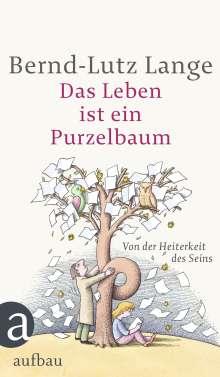 Bernd-Lutz Lange: Das Leben ist ein Purzelbaum, Buch