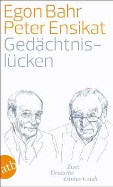 Peter Ensikat: Gedächtnislücken, Buch