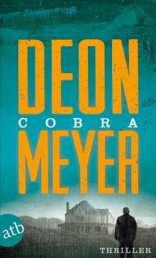 Deon Meyer: Cobra, Buch