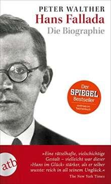 Peter Walther: Hans Fallada, Buch
