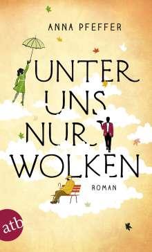 Anna Pfeffer: Unter uns nur Wolken, Buch