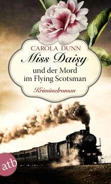 Carola Dunn: Miss Daisy und der Mord im Flying Scotsman, Buch