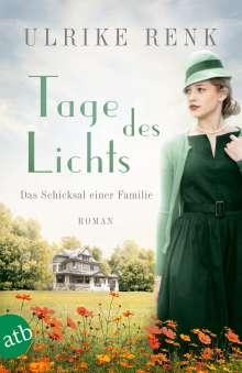 Ulrike Renk: Tage des Lichts, Buch