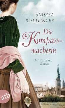Andrea Bottlinger: Die Kompassmacherin, Buch