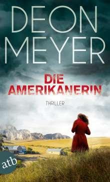 Deon Meyer: Die Amerikanerin, Buch