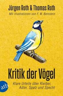 Jürgen Roth: Kritik der Vögel, Buch