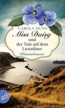 Carola Dunn: Miss Daisy und der Tote auf dem Luxusliner, Buch