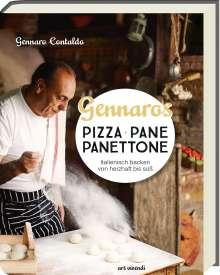 Gennaro Contaldo: Gennaros Pizza, Pane, Panettone, Buch