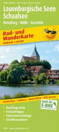 Lauenburgische Seen - Schaalsee 1:50 000, Diverse