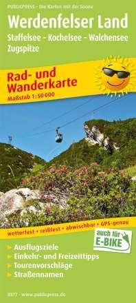 Werdenfelser Land, Staffelsee - Kochelsee - Walchensee - Zugspitze 1:50 000, Diverse