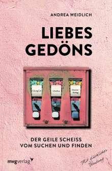 Andrea Weidlich: Liebesgedöns, Buch