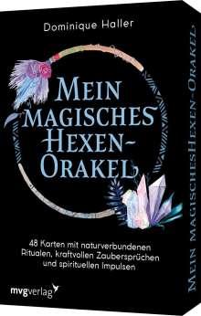 Dominique Haller: Mein magisches Hexen-Orakel, Buch