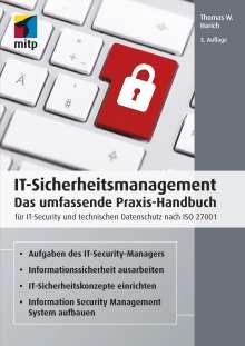 Thomas W. Harich: IT-Sicherheitsmanagement, Buch
