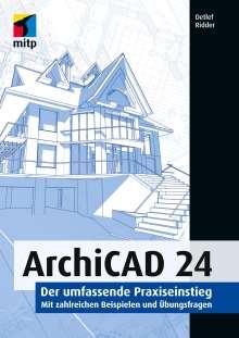 Detlef Ridder: ArchiCAD 24, Buch