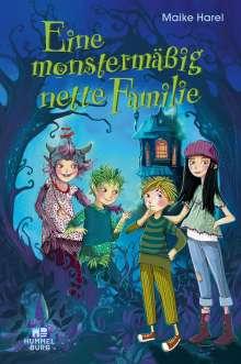 Maike Harel: Eine monstermäßig nette Familie, Buch