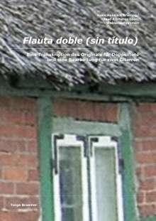 Torge Braemer: Flauta doble (sin titulo), Buch