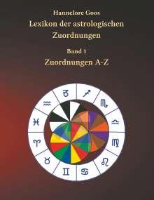 Hannelore Goos: Lexikon der astrologischen Zuordnungen Band 1, Buch