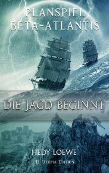 Hedy Loewe: Planspiel Beta-Atlantis, Buch