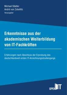Erkenntnisse aus der akademischen Weiterbildung von IT-Fachkräften, Buch