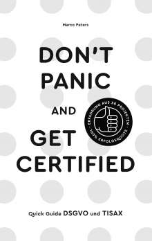 Marco Peters: Don´t Panic and Get Certified, Buch
