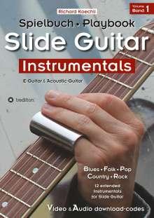Richard Koechli: Slide Guitar Instrumentals, Buch