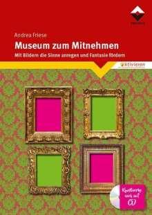 Andrea Friese: Museum zum Mitnehmen, Buch